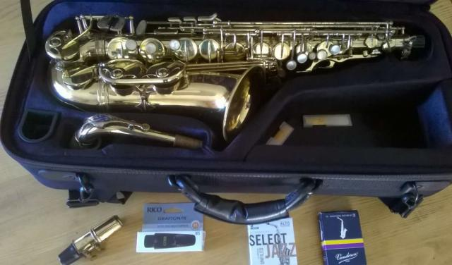 Saxophone Alto Selmer super action 80