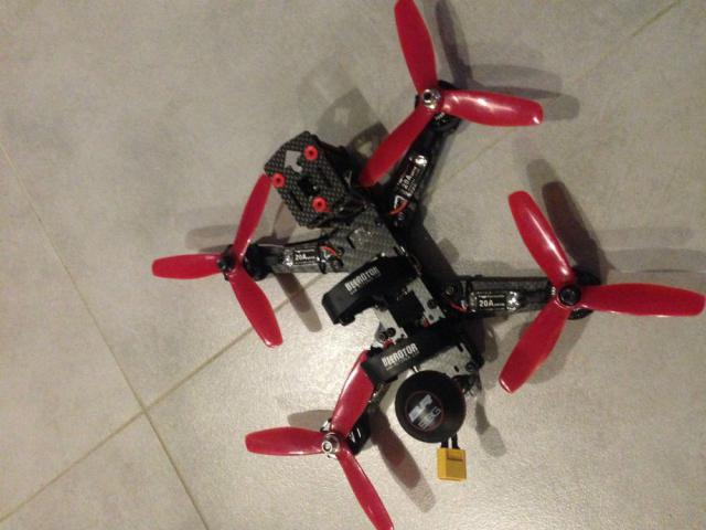 Drone Racing Beerotor Ultra 210