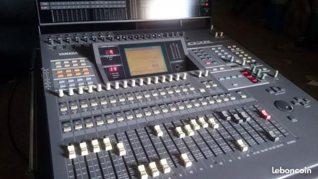 Yamaha 02r table mixage