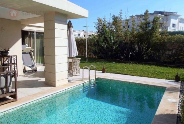Villa En Bande A Vendre In Bouskoura Golf City